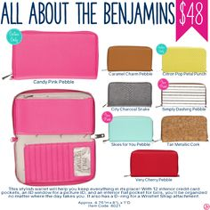 Thirty-One Wallet All About the Benjamins - Spring/Summer 2017