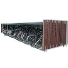 fietsenstalling , 150 cm hoog