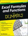 Excel Formulas and Functions For Dummies, 3rd Edition