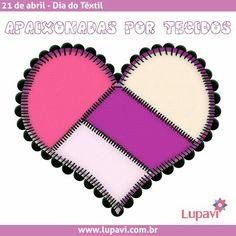 Bom dia! Hoje é um dia especial para nós artesãs, estamos comemorando o dia do Têxtil, simplesmente porque somos apaixonadas e viciadas em tecidos, a base do nosso trabalho ✂  #LupaviPatchwork #artesanato #customizado #personalizado #criativo #quilting #patchwork #BomDia #TerçaFeira #21deAbril #DiaDoTêxtil #têxtil #ApaixonadaPorTecidos #LoucaPorTecidos #ViciadaEmTecidos #tecidos #retalhos #feriado #Tiradentes #feitoamao #handmade #LojaVirtual #comprodequemfaz #artemanual #CompreOnline…