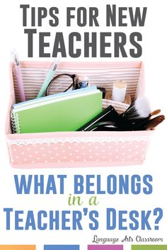 If you're a new teacher, you have lots of plans to make. Don't forget to consider the personal side of teaching. Pack for yourself during your school hours.