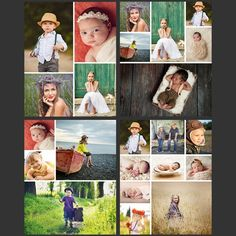 Create Photo Collages Without Leaving Lightroom. 50 Template Bundle (save 85%) - Photo Dough