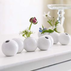Ball vases