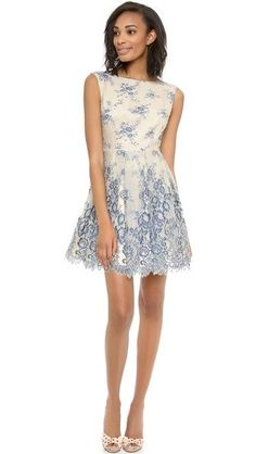 Nice alice + olivia Fila Flare Box Pleat Dress | SHOPBOP Dresses Check more at http://fashionie.top/pin/36524/
