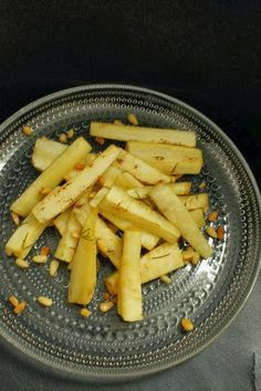 Honey roasted parsnip