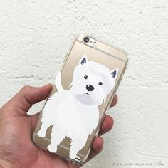 puppy phone case to comfort your needs #milkywaycases #iphone #phonecase