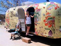 very cool idea for the outside of said airstream
