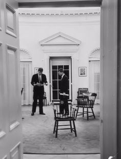 jfk in oval office. JFK And Bobby, In The Oval Office. | Kennedys: President Pinterest Office Jackie Kennedy Jfk