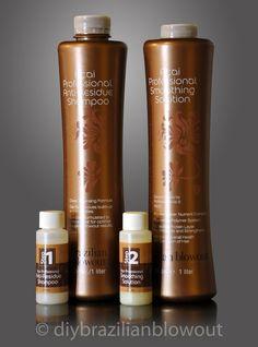 http://www.shorthaircutsforblackwomen.com/brazilian-blowout/ BRAZILIAN BLOWOUT DIY Kit Original Hair Smoothing by DIYBrazilianBlowout,
