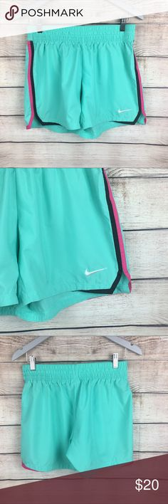 Nike Dri Fit Green shorts Running Training size M Womens Nike Dri Fit Green shorts Running Training Crossfit size M  Pre loved but keep in excellent condition, only been worn a handful of times  Same day shipping Nike Shorts