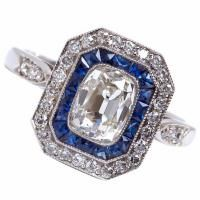 Antique Sapphire Ring.