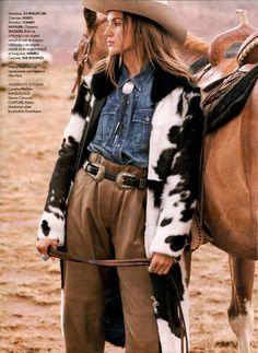 CAMILLE DENIM SHIRT IN ELLE MAGAZINE Valery Kaufman, Elle Magazine, Denim Shirt, Pictures, Shirts, Book, Style, Photos, Swag