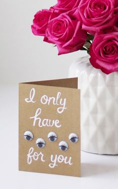 If they make you act all weird and corny: | 34 Stationery DIYs You Can Throw Together In Time For Valentine's Day