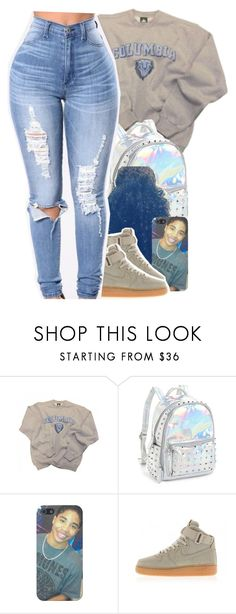 """""""Back in school """" by jchristina ❤ liked on Polyvore featuring Columbia, Bari Lynn and NIKE"""