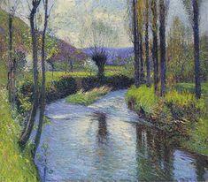 Henri Fantin Latour, French Impressionist Painters, Impressionist Paintings, Oil Painters, Georges Braque, Georges Seurat, Toulouse, Landscape Art, Landscape Paintings