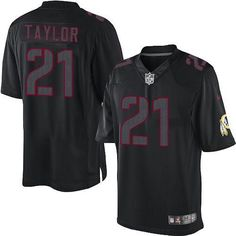 af693bd00 Nike Redskins  21 Sean Taylor Black Men s Stitched NFL Impact Limited  Jersey Ray Lewis Jersey