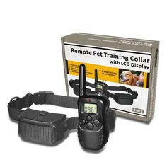 Pet Dog Training Collar with 300 Meter Remote Control //Price: $37.99 & FREE Shipping //     #hashtag2