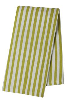 Pehr Selby Collection Citron Stripe Tea Towel