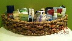 Houseguests On Pinterest House Guests Travel Bags And Baskets