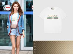 * Sooyoung *     T-Shirt: https://www.gucci.com/uk/en_gb/pr/men/mens-ready-to-wear/mens-t-shirts-polos/mens-polos/washed-t-shirt-with-gucci-print-p-440103X3F059045?audience=aud-287305150737:pla-269844678694&gclid=CjwKEAjw-LLKBRCdhqmwtYmX93kSJAAORDM6-g6Ydv2r865WIma_P7T0S7fMkqx-JI4QKM9raUknZRoC-YHw_wcB&gclsrc=aw.ds&dclid=CMuns_6C1NQCFcmjUQodfqkFug