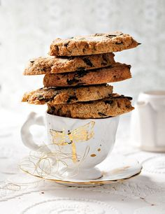 Pumpkin Seed And  Coconut Biscuits