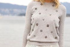 embellished sweater - Buscar con Google