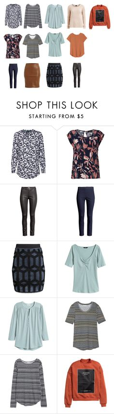 """Capesul Wardrobe spring 2016 interest"" by lone-haure-norrevang on Polyvore featuring VILA and H&M"