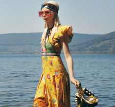 Colorful prints take the spotlight in Gucci x Unskilled Worker campaign