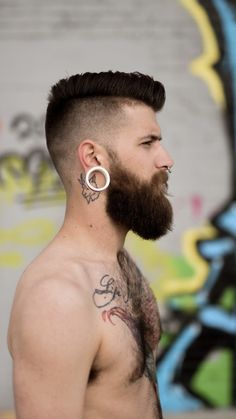 Hipster Haircut For Men Military Haircuts Men, Hipster Haircuts For Men, Military Hairstyles, Kids Hairstyles Boys, Baby Boy Haircuts, Great Beards, Awesome Beards, Army Haircut, Haircut Men