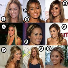 lauren conrad hair inspiration