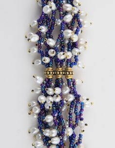 Bead&Button Show: Bead&Button Show Workshops & Classes: Sunday June 8, 2014: B142069 Two Hundred Pearls Bracelet