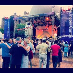 #Tango at The Midsummer Night Swing - Lincoln Center #LCSwing #nyc 