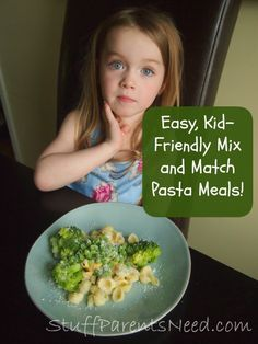 Pasta Recipes that Mix and Match: Easy, Kid-Friendly!