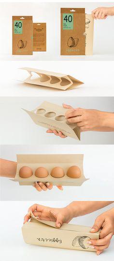 Eggscetra is an Concept Egg Packaging Design from Indian Design Agency / Designer: Marmik Patel Project Name: Eggscetra – an egg packaging Location: India Category: World Brand & Packaging Design Society⠀ Packaging Carton, Egg Packaging, Brand Packaging, Coffee Packaging, Design Agency, Branding Design, Vintage Carpet, Food Pack, Egg Designs
