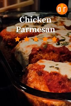"""Chicken Parmesan 