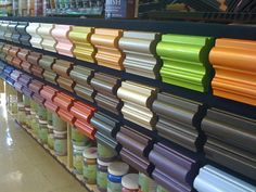 Modern Masters Metallic Paint Collection.