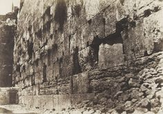 Enclosure Of Temple, West Side Heit-El-Morharby, Jerusalem. French Photographers, Moma, Jerusalem, Mount Rushmore, Temple, West Side, Travel Photography, To Go, Mountains