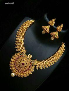 Gold Jewellery Design, Gold Jewelry, Gold Necklace, Indian Wedding Jewelry, Bridal Jewelry, Trendy Jewelry, Fashion Jewelry, Necklace Designs, Jewels