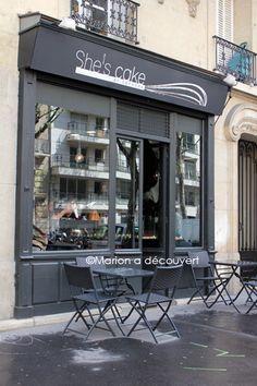 She's cake  Cheesecake Factory salé & sucré  20 avenue Ledru rollin    75012 Paris    http://www.shescake.fr/