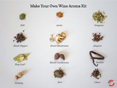 How to Make Your Own Wine Aroma Kit for $30