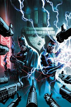 BRYAN EDWARD HILL will pair BATMAN and his former OUTSIDERS partner for a DETECTIVE COMICS arc.