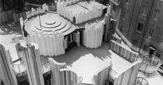 Casa Papanice (Papanice House)  Rome, Italy. 1966-1970  Architect: Paolo Portoghesi