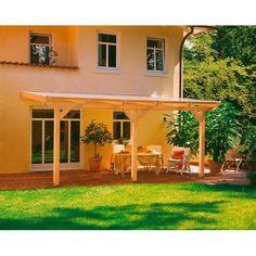 Skan Holz Terrassen-Überdachung Andria 648 cm x 350 cm