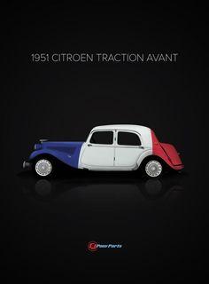 1951 Citoen Traction Avant