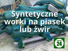 Syntetyczne worki na piasek lub żwir - http://rolnictwo24.pl/syntetyczne-worki-piasek-lub-zwir/
