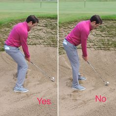 Learning how to play golf bunker shots will save you many shots during a round of golf. Learn these 4 vital parts to playing good golf bunker shots every time. #GreatGolfTips
