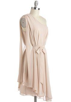Champagne Soiree Dress, #ModCloth