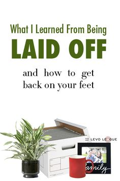 What I Learned From Being Laid Off