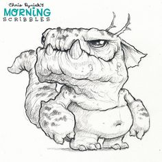 Tough ol' critter.  #morningscribbles
