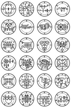 the seal of 72 demons